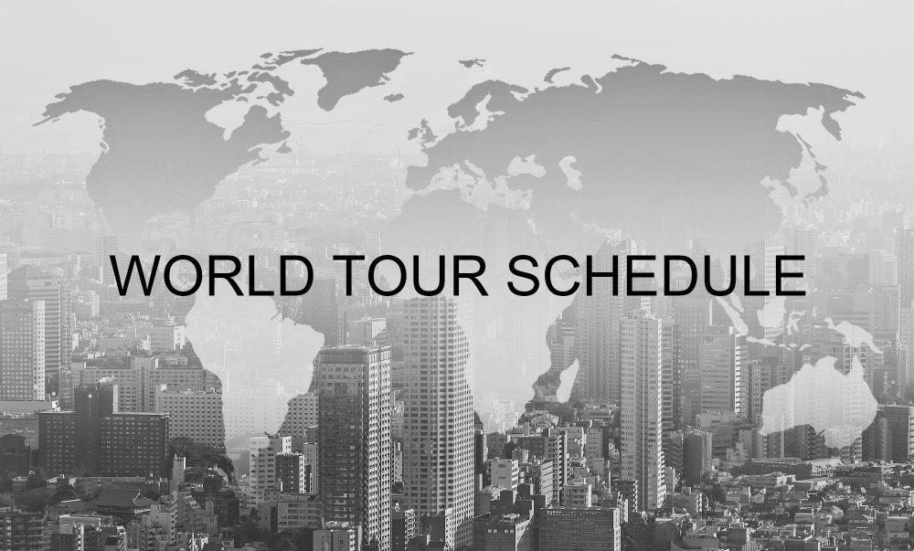 2018 WORLD TOUR SCHEDULE | sw photo studio 婚禮, 婚攝, 婚紗, 海外婚禮, 海外婚紗, 海島婚禮,峇里島婚禮, 峇里島婚紗, 台灣婚禮, 婚攝推薦