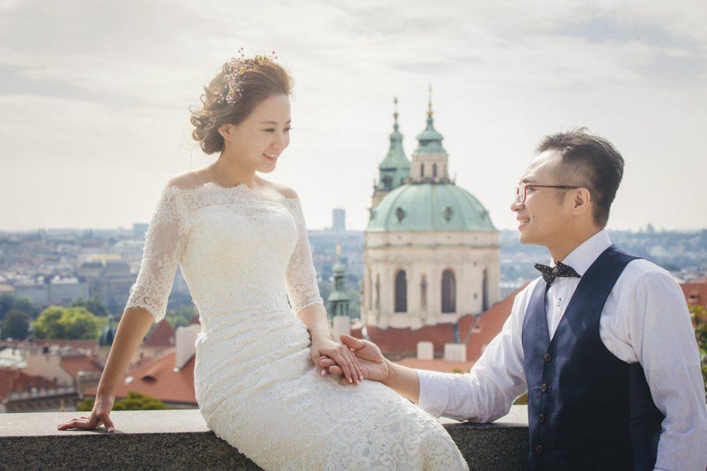 婚紗攝影, 歐洲婚紗, 布拉格, Prague, 海外婚紗