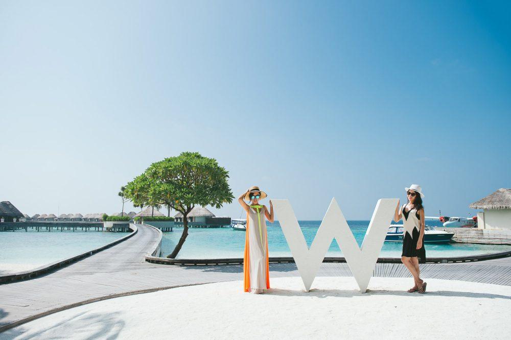 人像攝影, 馬爾地夫, W HOTEL MALDIVES, 海外人像