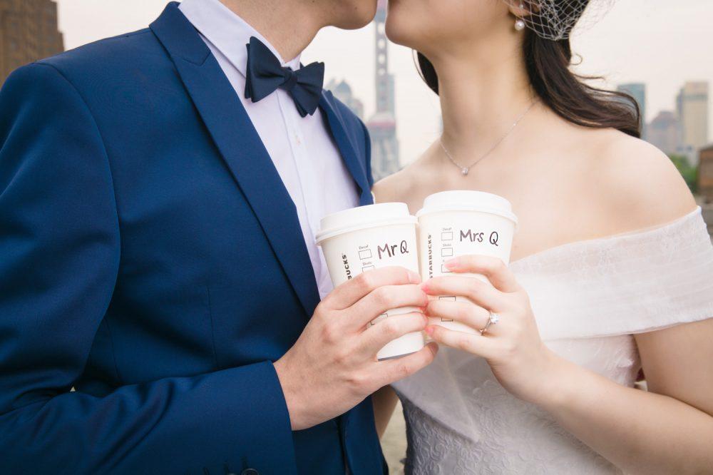 婚紗攝影, 上海婚紗, 外灘, 車墩, 復旦大學, 海外婚紗