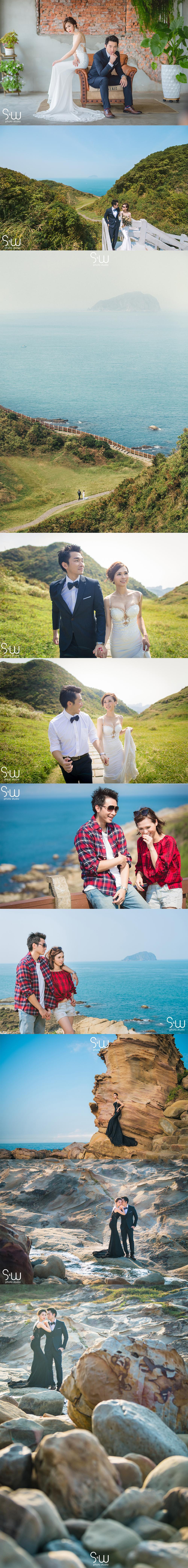 婚紗攝影|台北陽明山+北海岸|台北婚紗