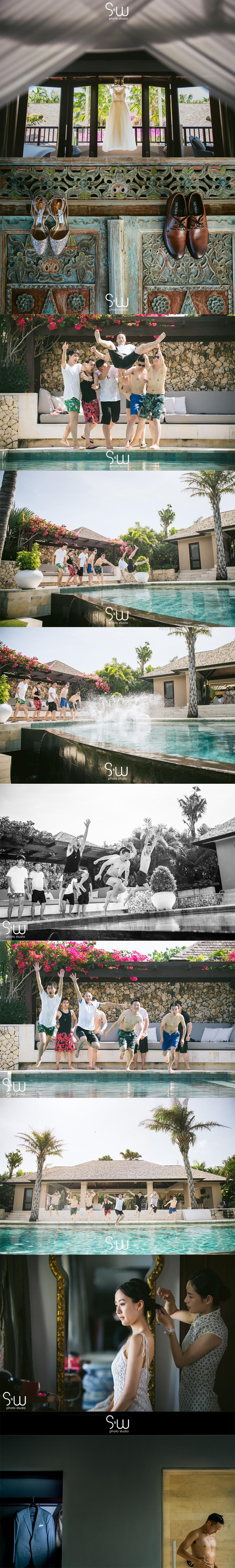 婚禮攝影,峇里島 Ungasan Clifftop Resort,海外婚禮