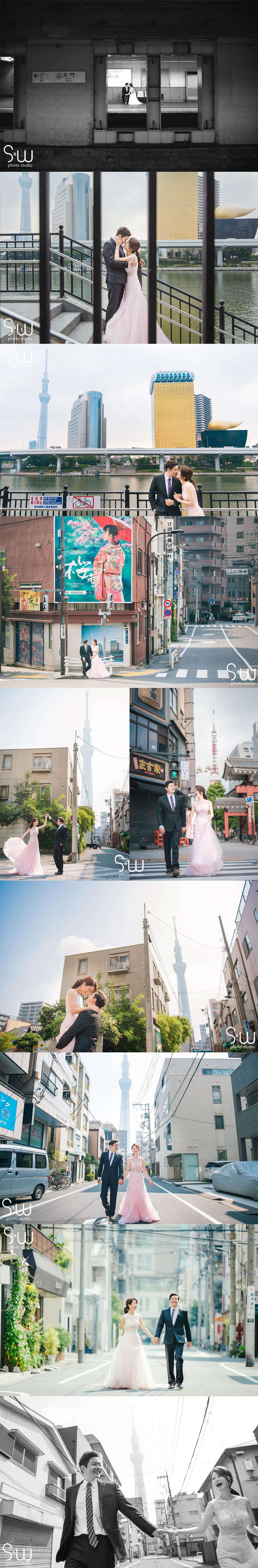 婚紗攝影,日本輕井澤+東京,海外婚紗
