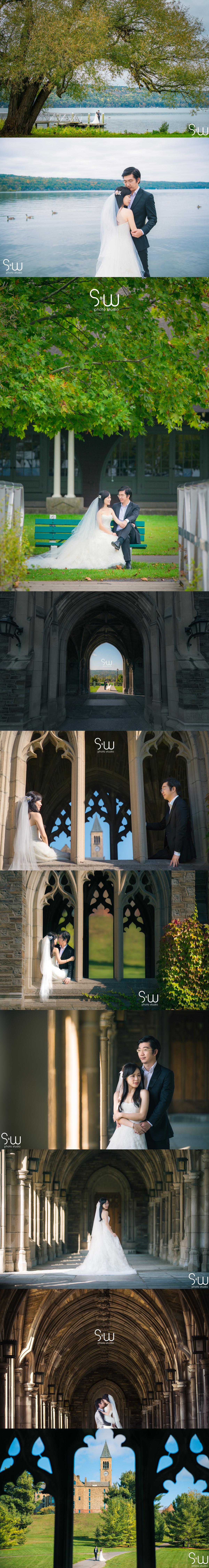 婚紗攝影,紐約康奈爾大學,海外婚紗