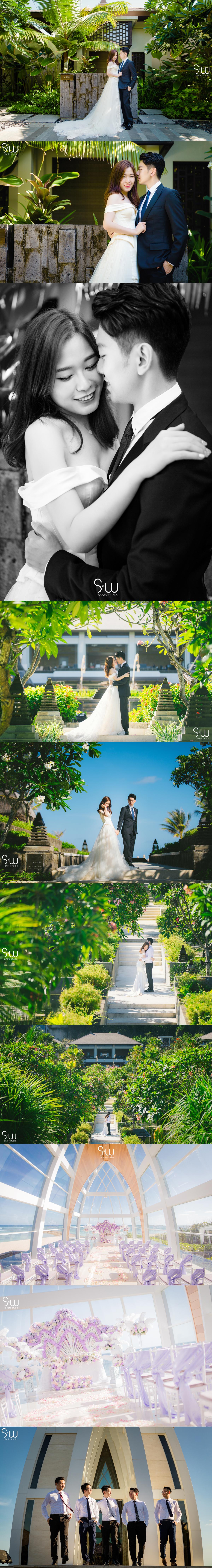 婚禮攝影,峇里島Ritz-Carlton,海外婚禮