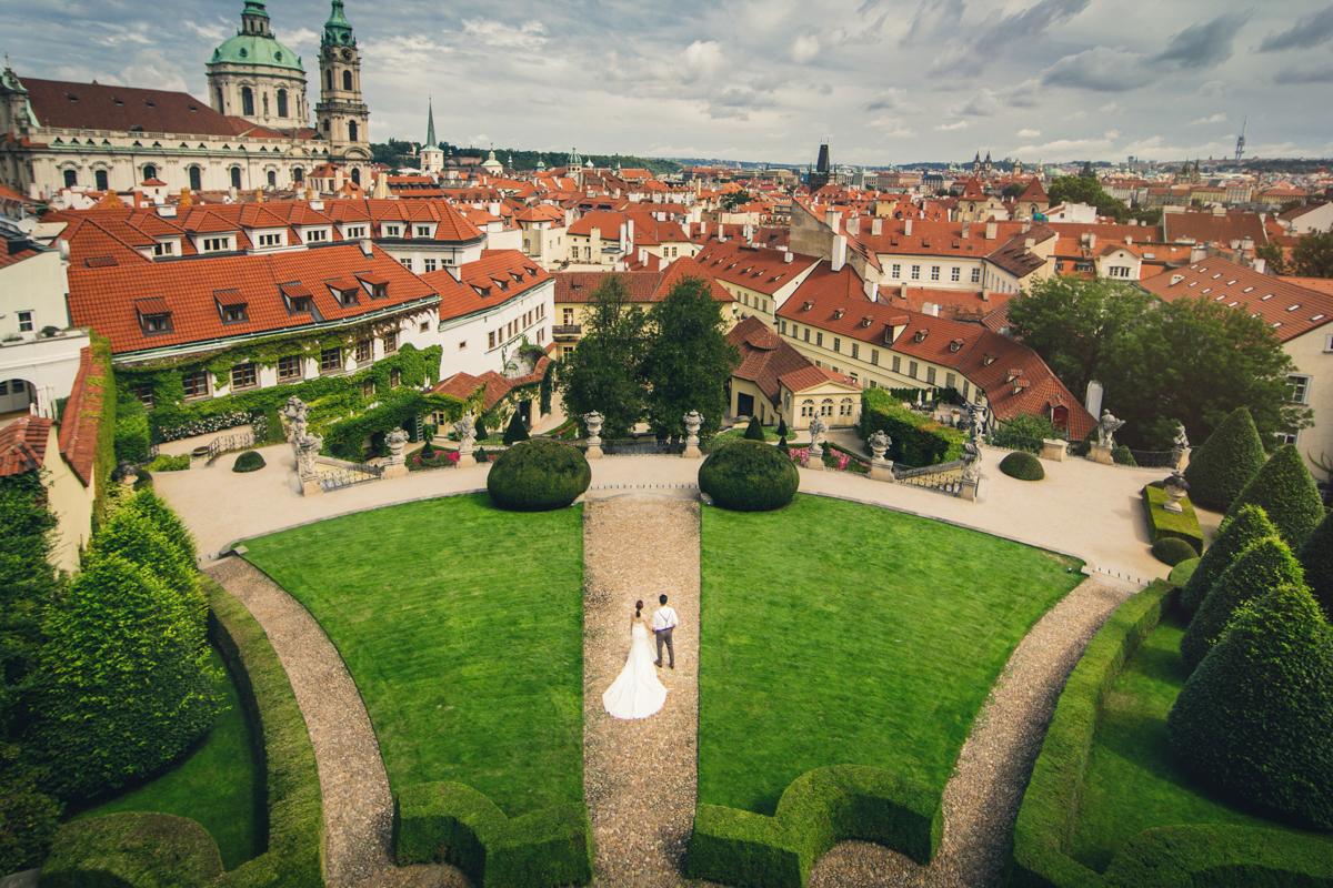 婚紗攝影,歐洲婚紗 布拉格 Prague,海外婚紗
