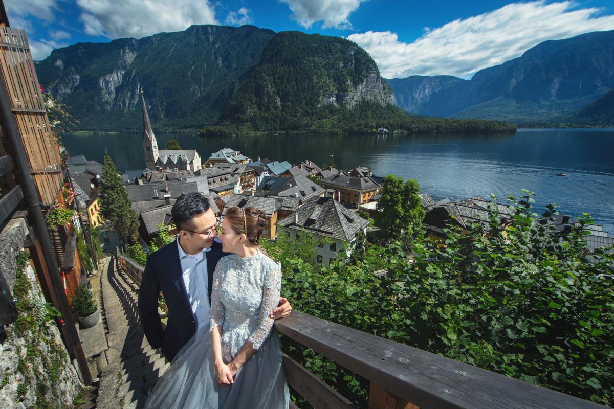 婚紗攝影,歐洲婚紗 哈修塔特, 布達佩斯 HALLSTATT, BUDAPEST,海外婚紗