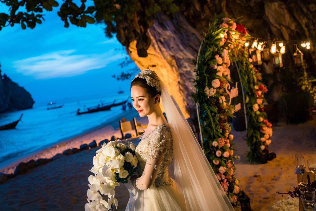 婚禮攝影,泰國甲米岩洞婚禮 Rayavadee,海外婚禮