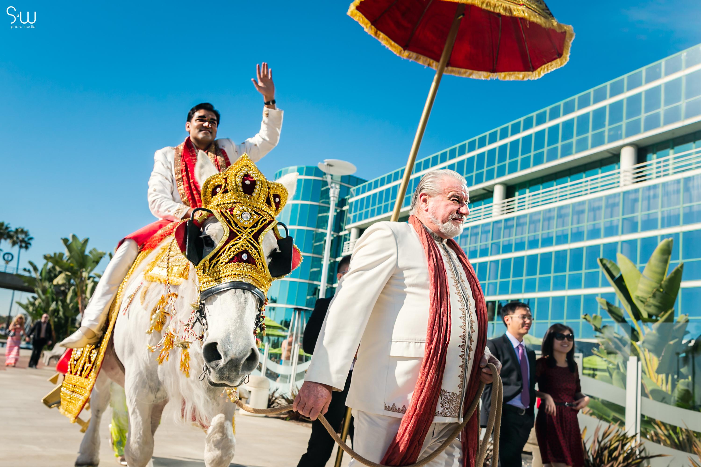 婚禮攝影|洛杉磯 Hyatt Regency Long Beach|印度婚禮