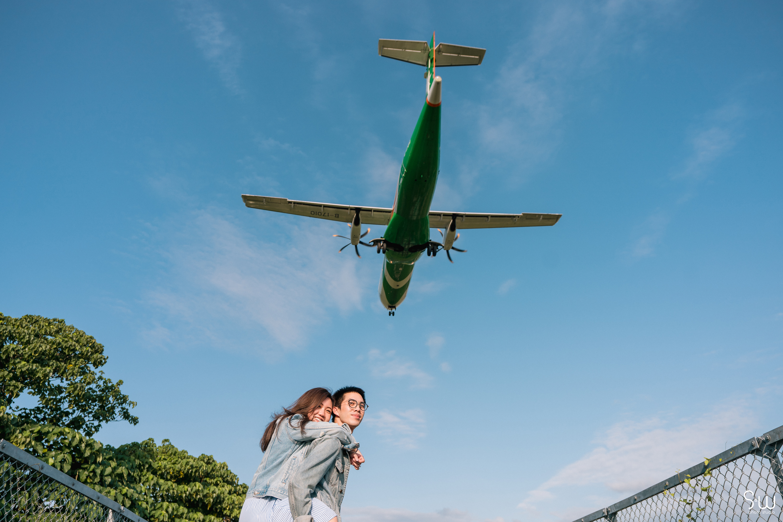 婚紗攝影 |飛機巷 + 新生公園|台北輕婚紗