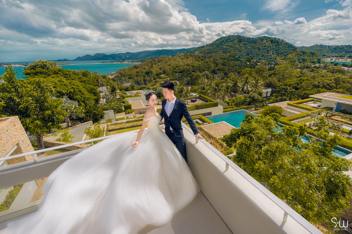 婚禮紀錄,蘇美島Samujana Villa,海外婚禮