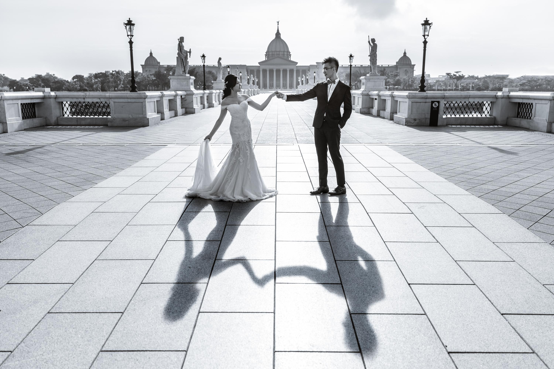 婚紗攝影, 七股鹽山, 奇美博物館, 窄門咖啡, 台南婚紗