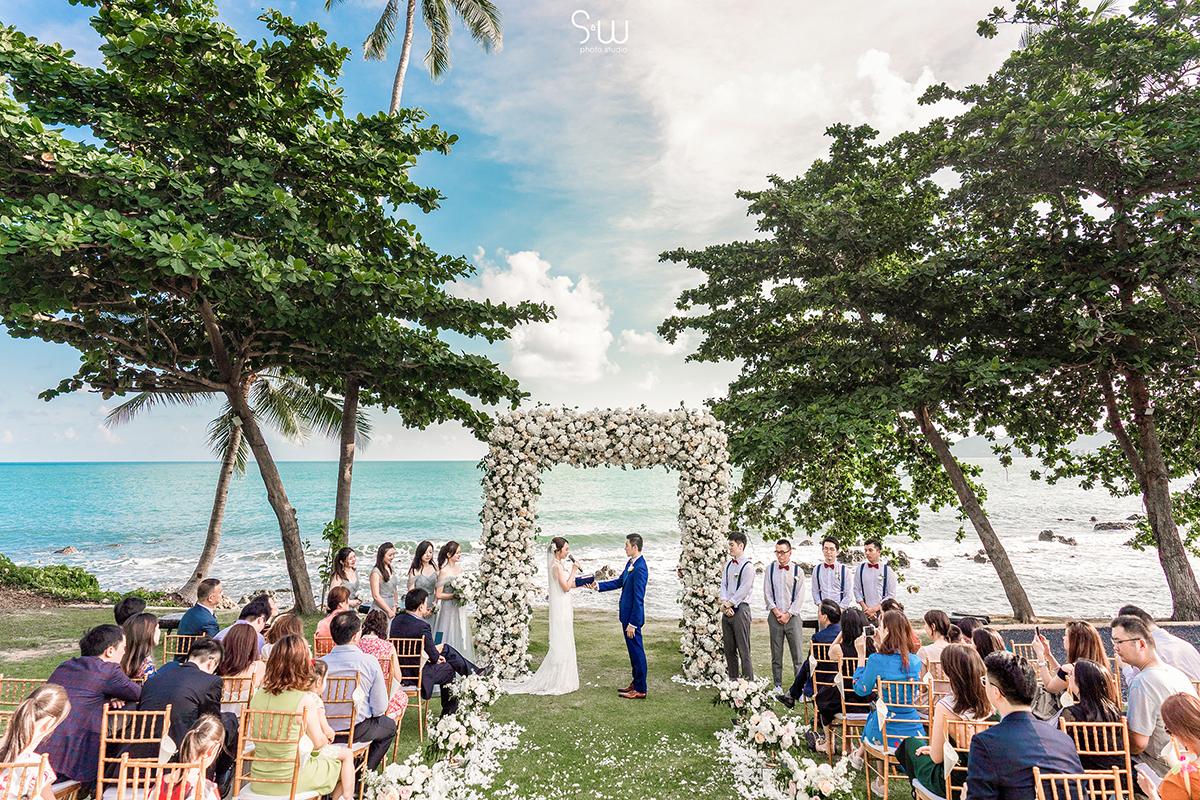婚禮紀錄, 蘇美島, Samujana Villa, 海外婚禮
